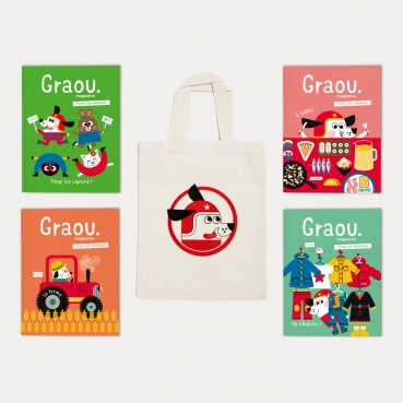 Pack Graou vintage