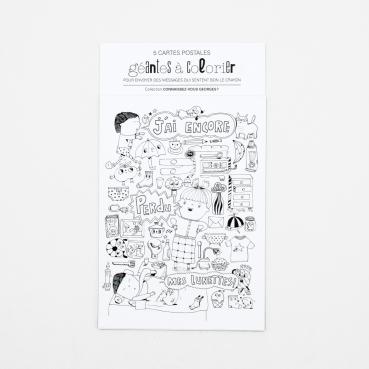 Cartes postales géantes à...