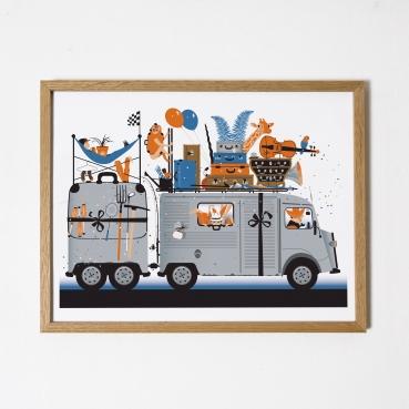 La camionnette